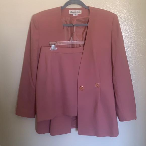 Christian Dior Short Skirt Suit